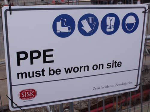 PPE MUST be Worn on Site