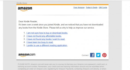 向電商巨頭Amazon學電子報行銷