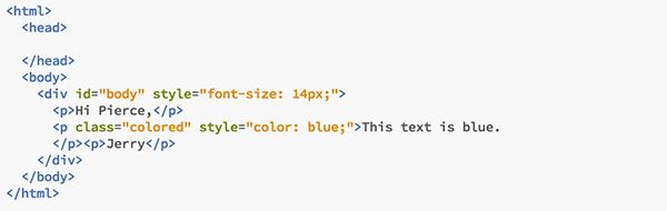 inline 電子報 程式碼