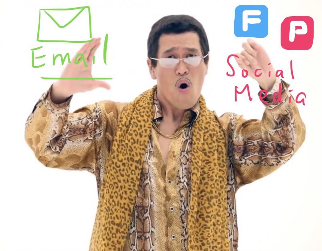 社群媒體 電子報行銷