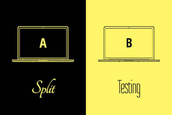 A/B 測試圖