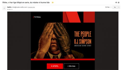 原來 Netflix 電子報做這麼好!善用 4 招「讀心術」讓用戶黏對品牌黏 TT